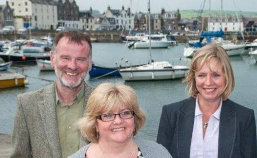 Smith Solicitors Staff Members, Stonehaven Harbour